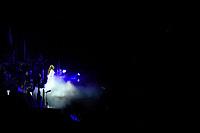 NOV 11 Sarah Brightman performing at Royal Albert Hall in London.