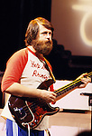 Beach Boys 1979 Brian Wilson on Midnight Special.© Chris Walter.