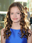 Mackenzie Foy at The Warner Bros. L.A. Premiere of The Conjuring held at The Cinerama Dome in Hollywood, California on July 15,2013                                                                   Copyright 2013 Hollywood Press Agency