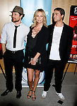 """WESTWOOD, CA. - September 22: Actors Martin Henderson, Charlize Theron and Writer/Director Stuart Townsend arrive at a special screening of """"Battle in Seattle"""" held at the Clarity Theater on Monday September 22, 2008 in Beverly Hills, California."""
