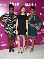 12 May 2018 - Los Angeles, California - Danielle Brooks, Sarah Gadon, Regina King. Netflix FYESEE Rebels and Rule Breakers Event.   <br /> CAP/ADM/FS<br /> &copy;FS/ADM/Capital Pictures