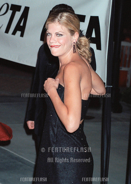 "18SEP99: ""Third Rock from the Sun"" star KRISTEN JOHNSTON at PETA's Party of the Century, in Los Angeles.     .© Paul Smith / Featureflash"