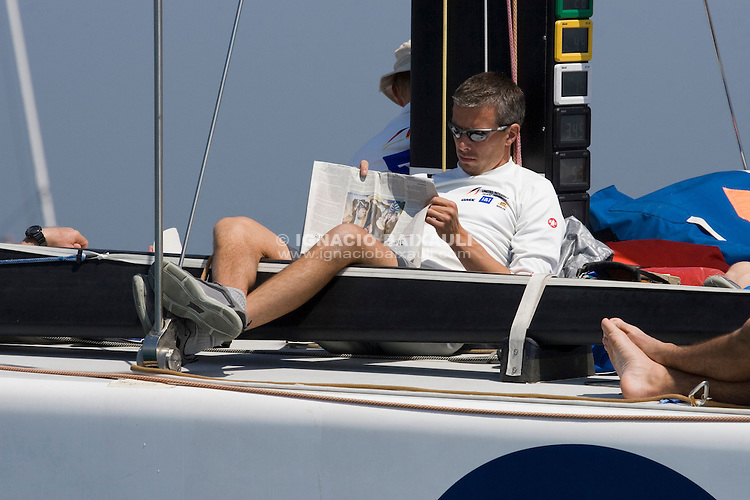 United Internet Team Germany -  - LOUIS VUITTON CUP - ROUND ROBIN 1 - DAY 1,2,3,4,6,8 - Races cancelled - 2007 abr 16