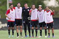 Miami, FL. - March 22, 2016: The U.S. Men's National team train in preparation for their World Cup Qualifying matches against Guatemala at Barry University.