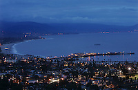 "View of Santa Barbara Harbor and waterfront Thursday March 2, 2006. Santa Barbara County is still a spectacular example of limited development along the California Coast. Preserving ""our environment and our quality of life...is like a mantra,"" said Susan Rose, the chairwoman of Santa Barbara County Board of Supervisors."