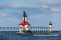 64795-02716 St. Joseph North Pier Lighthouses St. Joseph, MI