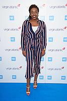 Sarah Ikumu arriving for WE Day 2018 at Wembley Arena, London, UK. <br /> 07 March  2018<br /> Picture: Steve Vas/Featureflash/SilverHub 0208 004 5359 sales@silverhubmedia.com