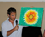 Ryan Carnes auctions off his painting -  Actors from Y&R, General Hospital and Days donated their time to Southwest Florida 16th Annual SOAPFEST - a celebrity weekend May 22 thru May 25, 2015 benefitting the Arts for Kids and children with special needs and ITC - Island Theatre Co. as it presented A Night of Stars on May 23 , 2015 at Bistro Soleil, Marco Island, Florida. (Photos by Sue Coflin/Max Photos)