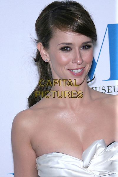 JENNIFER LOVE HEWITT.Launch party for the second year of MTR?s She Made It: Women Creating Television and Radio - Arrivals held at the Museum of Television & Radio, Beverly Hills, California, USA..December 5th, 2006.headshot portrait white strapless cleavage.CAP/ADM/ZL.©Zach Lipp/AdMedia/Capital Pictures