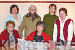 Creative writers front l-r: Eileen OShea and Frances Kay (KCC Writer in Residence), Killarney. Back row l-r: Liz Ryan and Mary Moloney, Killarney, Nora Dwyer, Fossa, and Mabel Counihan, Killarney, who held a workshop in Killarney Library last Saturday..