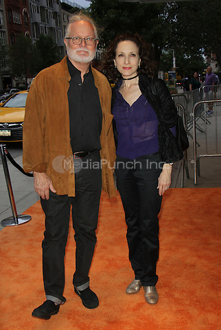 NEW YORK, NY-June 13: Chris Calkins, BeBe Neuwirth at  EPIX presents New York premiere of  EPIX original Documentary SERENA the Other Side of Greatness at the SVA Theatre in New York. NY June 13, 2016. Credit:RW/MediaPunch