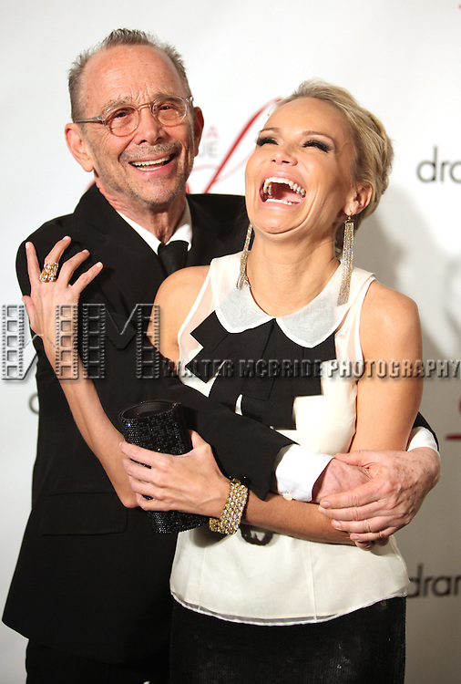 Joel Grey & Kristin Chenoweth.attending the Drama League's 28th Annual Musical Celebration of Broadway honoring Kristin Chenoweth at the Pierre Hotel in New York City. 2/6/2012.