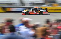 May 2, 2008; Richmond, VA, USA; NASCAR Sprint Cup Series driver Martin Truex Jr during practice for the Dan Lowry 400 at the Richmond International Raceway. Mandatory Credit: Mark J. Rebilas-