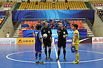 Chonburi Blue Wave vs Shenzhen Nanling during the 2014 AFC Futsal Club Championship Group Semi-finals match on August 29, 2014 at the Shuangliu Sports Centre in Chengdu, China. Photo by World Sport Group
