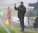 12/12/2009  Copyright  Pic : James Stewart.sct_jspa22_motherwell v celtic  . :: MOTHERWELL MANAGER JIM GANNON TRIES TO GET HIS INSTRUCTIONS OUT THROUGH THE FIRST HALF FOG :: .James Stewart Photography 19 Carronlea Drive, Falkirk. FK2 8DN      Vat Reg No. 607 6932 25.Telephone      : +44 (0)1324 570291 .Mobile              : +44 (0)7721 416997.E-mail  :  jim@jspa.co.uk.If you require further information then contact Jim Stewart on any of the numbers above.........