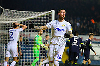 Leeds United's Pontus Jansson rues a missed chance<br /> <br /> Photographer Alex Dodd/CameraSport<br /> <br /> The EFL Sky Bet Championship -  Leeds United v Derby County - Friday 11th January 2019 - Elland Road - Leeds<br /> <br /> World Copyright &copy; 2019 CameraSport. All rights reserved. 43 Linden Ave. Countesthorpe. Leicester. England. LE8 5PG - Tel: +44 (0) 116 277 4147 - admin@camerasport.com - www.camerasport.com