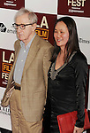 LOS ANGELES, CA - JUNE 14: Woody Allen and Soon-Yi Previn arrive at the 2012 Los Angeles Film Festival premiere of 'To Rome With Love' at Regal Cinemas L.A. LIVE Stadium 14 on June 14, 2012 in Los Angeles, California.
