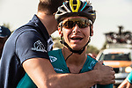 Bryan Coquard (FRA) Vital Concept Cycling Club wins Stage 1 of the 2018 Tour of Oman running 162.5km from Nizwa to Sultan Qaboos University. 13th February 2018.<br /> Picture: ASO/Muscat Municipality/Kare Dehlie Thorstad | Cyclefile<br /> <br /> <br /> All photos usage must carry mandatory copyright credit (&copy; Cyclefile | ASO/Muscat Municipality/Kare Dehlie Thorstad)