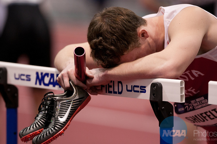 12 MAR 2011:  The Division II Men's and Women's Indoor Track and Field Championship held at the Albuquerque Convention Center in Albuquerque, NM.    Mark Holm/ NCAA Photos