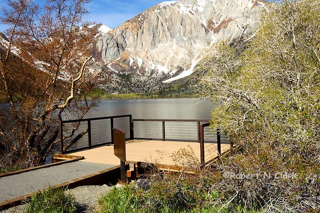 Convict Lake in the Sierra Nevada of California