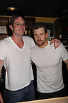 One Life To Live Tom Degnan & Josh Kelly bartend at the Celebrity Bartending Bash on May 14 at Martini's Upstairs, Marco Island, Florida - SWFL Soapfest Charity Weekend May 14 & !5, 2011 benefitting several children's charities including the Eimerman Center providing educational & outreach services for children for autism. see www.autismspeaks.org. (Photo by Sue Coflin/Max Photos)