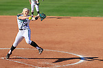 DENTON TX - MARCH 9: The University of North Texas Mean Green Softball v Southern Mississippi at Lovelace Field in Denton on March 9, 2019, in Denton Texas.