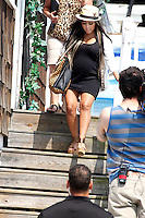 Snooki showing a baby bump and her mom pictured during filming of The Jersey Shore Show season six in Seaside Heights, New Jersey on June 28, 2012  © Star Shooter / MediaPunchInc */NORTEPHOTO.COM*<br /> **SOLO*VENTA*EN*MEXICO** **CREDITO*OBLIGATORIO** *No*Venta*A*Terceros*<br /> *No*Sale*So*third* ***No*Se*Permite*Hacer Archivo***No*Sale*So*third*©Imagenes*con derechos*de*autor©todos*reservados*
