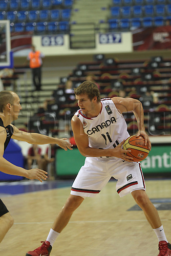 01.08.2010. Basketball World Championships, Izmir, Turkey. New Zealand v Canada. Day 5 AARON DOORNEKAMP