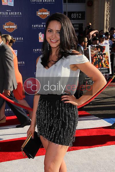 Alyssa Diaz<br /> at the Los Angeles Premiere Of &quot;Captain America: The First Avenger,&quot; El Capitan, Hollywood, CA. 07-19-11<br /> David Edwards/DailyCeleb.com 818-249-4998