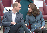 Princess Kate, Prince William and Prince Harry Visit Coach Core Apprenticeships Programme