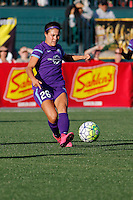 Rochester, NY - Saturday June 11, 2016: Orlando Pride defender Samantha Witteman (26) during a regular season National Women's Soccer League (NWSL) match between the Western New York Flash and the Orlando Pride at Rochester Rhinos Stadium.