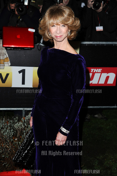 Helen Worth arriving for The Sun Military Awards 2011 at the Imperial war Museum, London. 19/12/2011 Picture by: Steve Vas / Featureflash