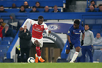 Eddie Nketiah of Arsenal in action during Chelsea Under-23 vs Arsenal Under-23, Premier League 2 Football at Stamford Bridge on 15th April 2019