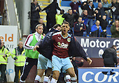19/04/2016 Sky Bet League Championship  Burnley v Middlesbrough<br /> Andre Gray joins in the celebrations