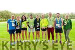 Listowel Endurance Festival : The winners of the 9 of the 10 categories in the Listowel endurance Festival held in the Listowel Town Park over last weekend.    The Listowel winners were Rachel Stokes, Listowel 1 H, 3rd from left,  Fozzy Forristal, Listowel, 24 H, 6th from left &  John Kennelly, Listowel, 1 H, 7th from left.