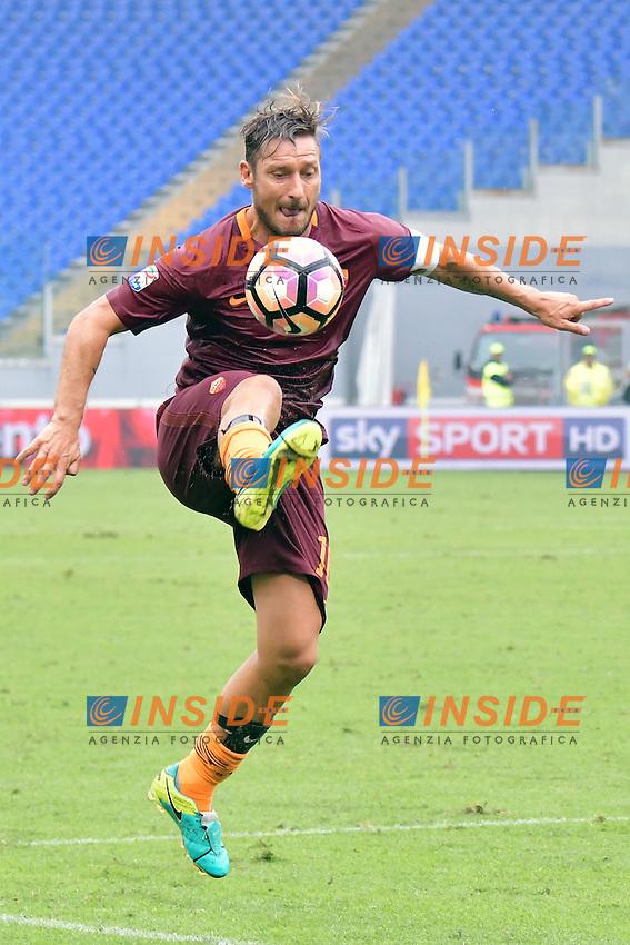 Francesco Totti Roma <br /> Roma 11-09-2016 Stadio Olimpico  <br /> Football Calcio Serie A AS Roma - Sampdoria <br /> Foto Andrea Staccioli / Insidefoto