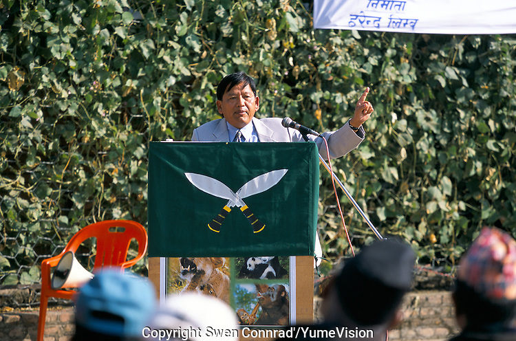 Padam Bahadur Gurung, President of the Gurkha Army Ex-Servicemen's Organisation..We will not give up the fight until we have ended this discrimination against Gurkhas, say President Padam Bahadur Gurung.
