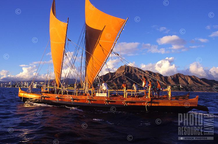 Hawaii Loa authentic Hawaiian sailing vessel