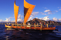 Hawaii Loa authentic Hawaiian sailing vessel