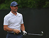 Rory McIlroy gets ready to tee off from the 2nd Hole during a practice round prior to the U.S. Open Championship at Shinnecock Hills Golf Club in Southampton on Sunday, June 10, 2018.