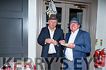 Ed O'Brien and Donie O'Connor enjoying the Inspired Monster Mash Ball in the Ashe Hotel on Thursday