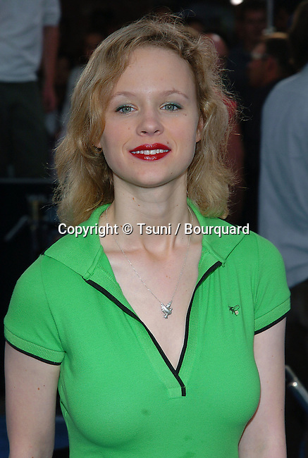 Thora Birch arriving at the i,Robot Premiere at the Westwood Village in Los Angeles. July 7, 2004.