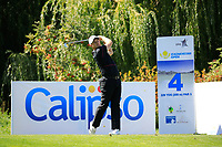 Tom Lewis (ENG) during the final round of the Kazakhstan Open presented by ERG played at Zhailjau Golf Resort, Almaty, Kazakhstan. 16/09/2018<br /> Picture: Golffile | Phil Inglis<br /> <br /> All photo usage must carry mandatory copyright credit (&copy; Golffile | Phil Inglis)