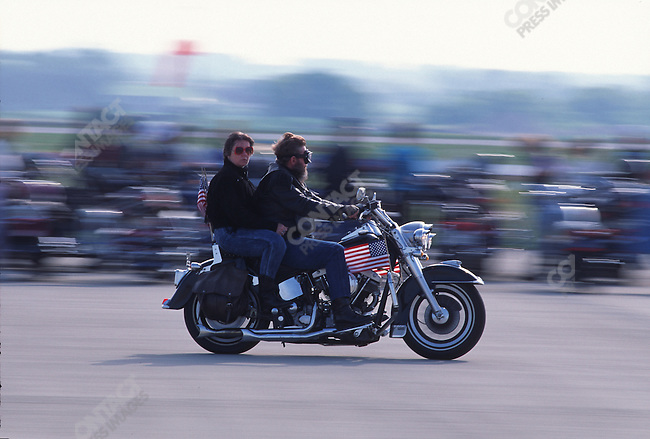 90th anniversary of Harley Davidson Milwaukee, Wisconsin, June 1993