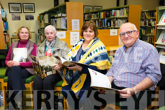 At the Launch of the The Kerry Archaeological and Historical Society Magazine 2018 at the Kerry County Library Tralee on Tuesday were Elizabeth, O'Donoghue/Ross, Maureen Hanifin, Margaret Graham and Dan Graham