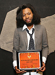 Jeremy O. Harris attends the Vineyard Theatre Paula Vogel Playwriting Award honoring Jeremy O. Harris on October 12, 2018 at the National Arts Club in New York City.