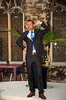 16-9-09, Netherlands,  Maastricht, Tennis, Daviscup Netherlands-France, captain Jan Siemerink