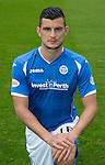 St Johnstone FC Photocall, 2015-16 Season....03.08.15<br /> Graham Cummins<br /> Picture by Graeme Hart.<br /> Copyright Perthshire Picture Agency<br /> Tel: 01738 623350  Mobile: 07990 594431