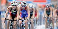 01 SEP 2007 - HAMBURG, GER - Ricarda Lisk (GER) - Elite Womens World Triathlon Championships. (PHOTO (C) NIGEL FARROW)