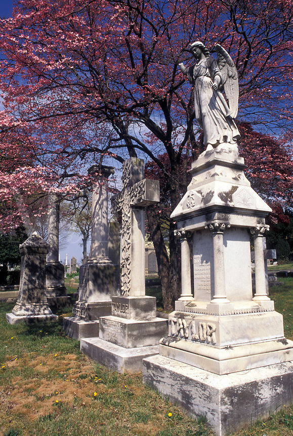 cemetery, Richmond, Virginia, VA, Hollywood Cemetery, burial ground of famous Virginians.